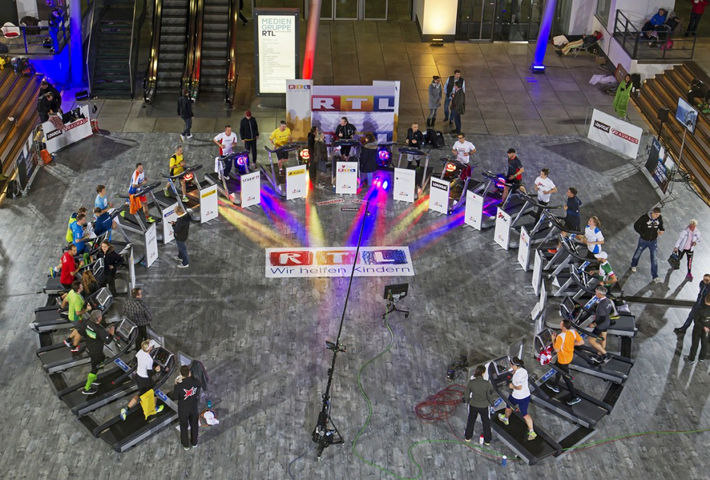 24 Std RTL Spendenmarathon mit Joey Kelly 2015
