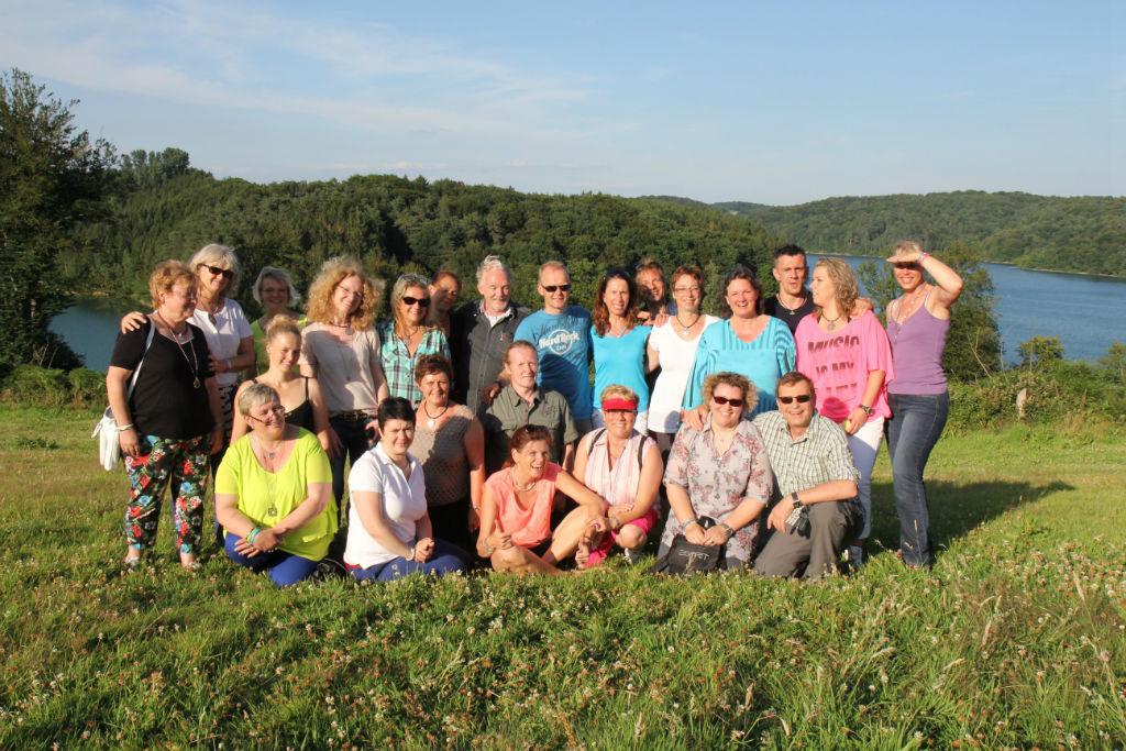 Besuch von Energetix-VP bei Joey Kelly auf dem Bauernhof